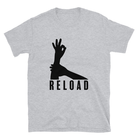 funny basketball t-shirts - grey 3-Point Reload