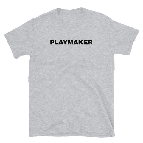 funny basketball t-shirts - grey Playmaker