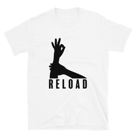 funny basketball t-shirts - white 3-Point Reload