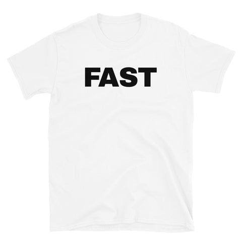 funny football t-shirts - white Fast