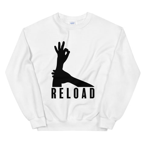 funny basketball sweatshirts - white 3-Point Reload