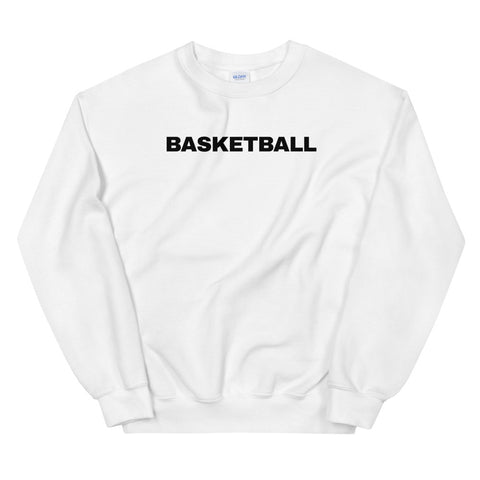 funny basketball sweatshirts - white Basketball