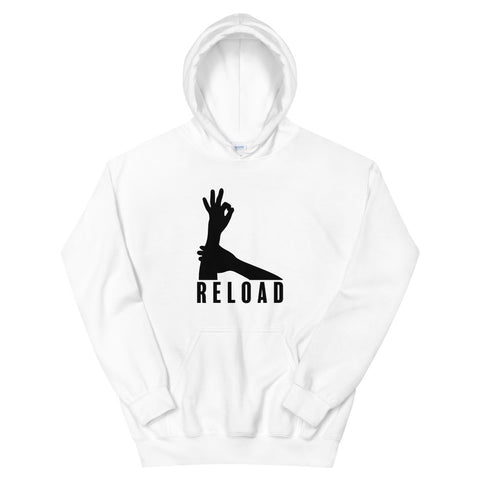 funny basketball hoodies - white 3-Point Reload