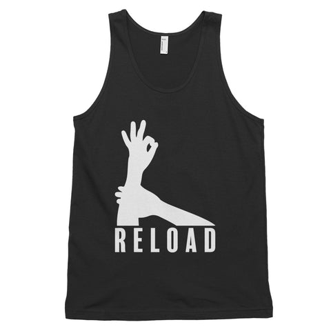 funny basketball tank tops - black 3-Point Reload