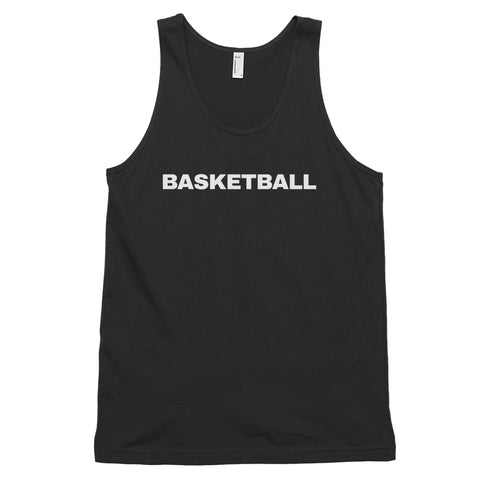 funny basketball tank tops - black basketball