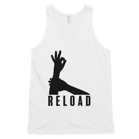 funny basketball tank tops - white 3-Point Reload