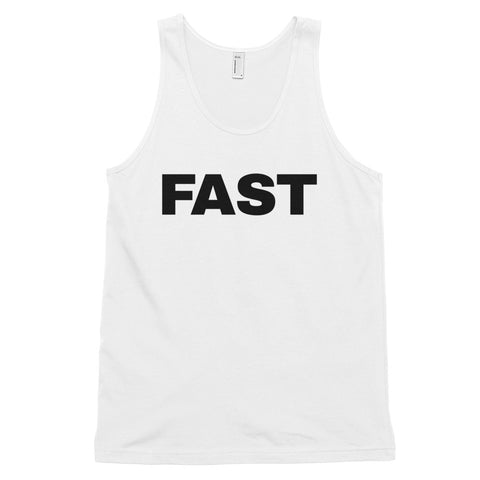 funny football tank tops - white Fast