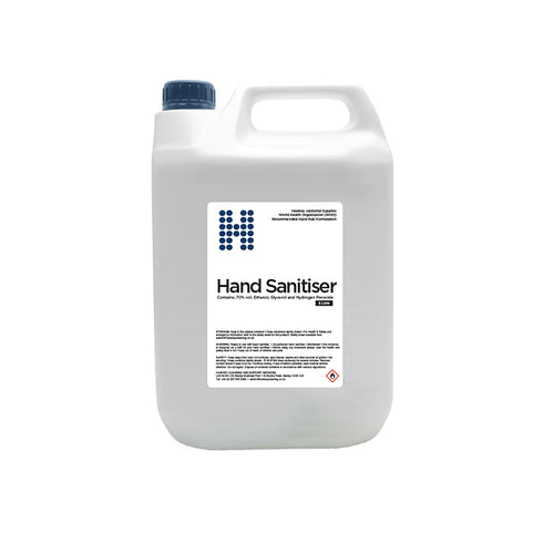 70% Alcohol Hand Sanitiser Rub 5 Litre (WHO Formula)