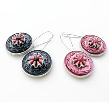 Load image into Gallery viewer, Nespresso coffee pod dangle earrings