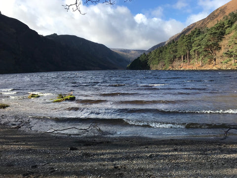 Glendalough lake pictures