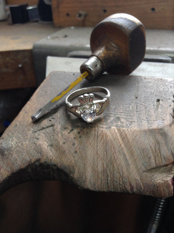 irish claddagh, workshop
