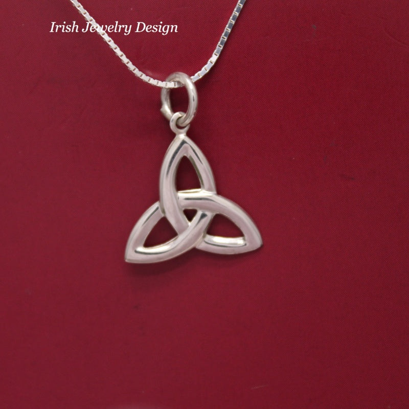 Jewelry  - Celtic Necklace, Silver Irish Celtic Necklace