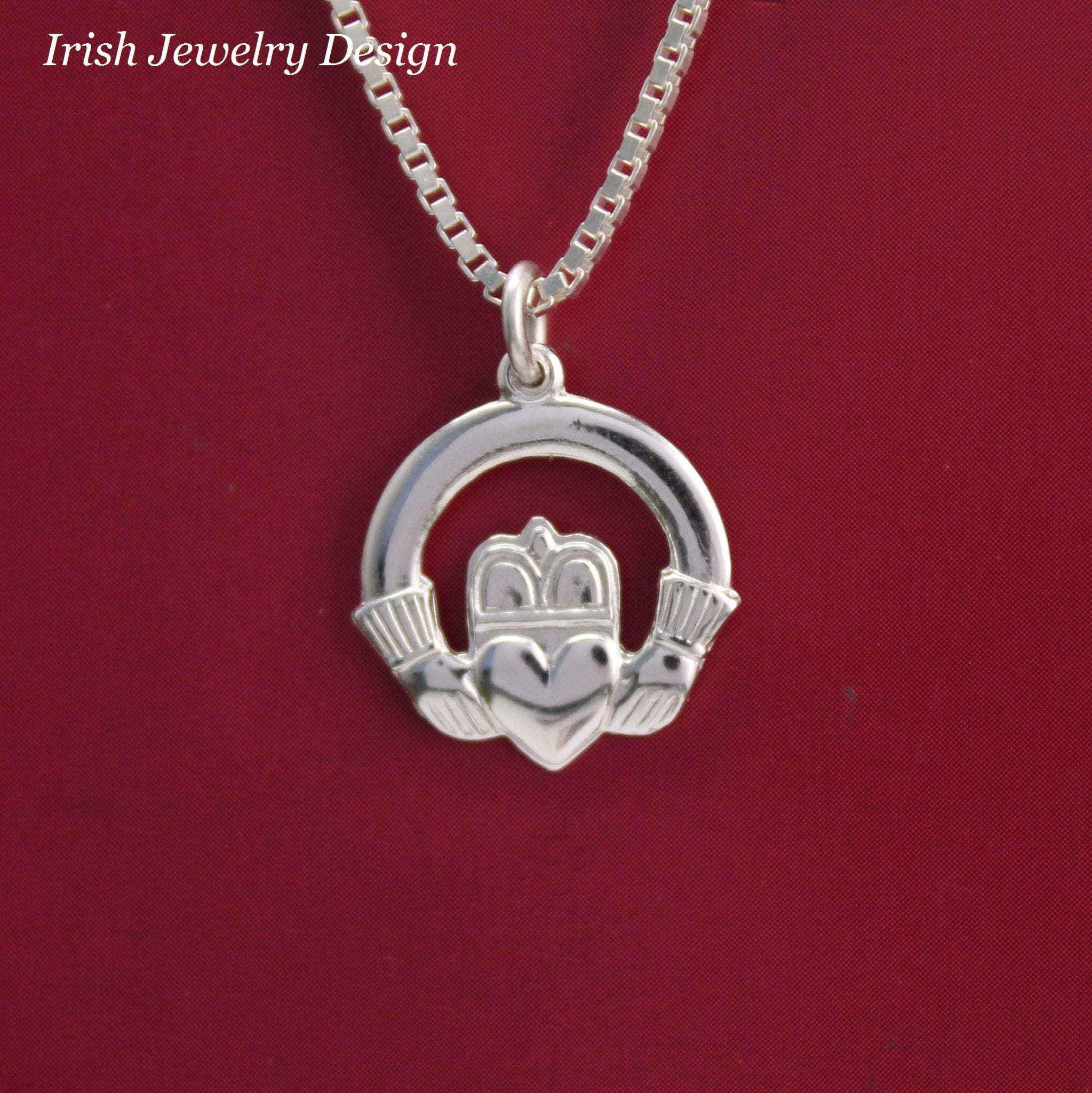 silver designs products contagious gold necklace over celtic pendant rose img
