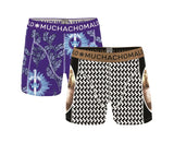 "Muchachomalo Boy's short 2-pack ""No Guts No Glory"" - 1010JGUTS04"