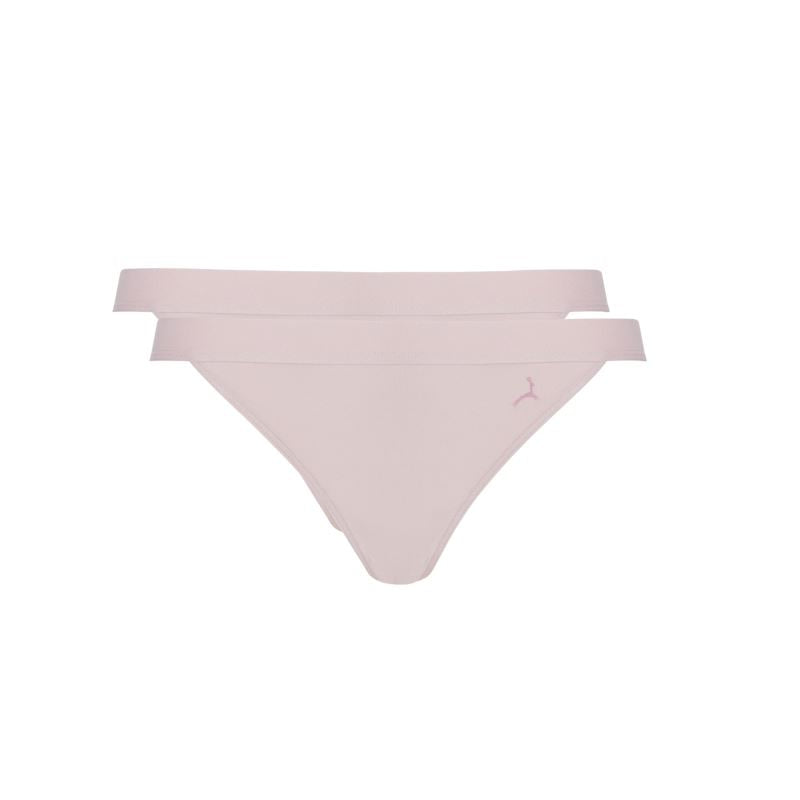 30034 Ten Cate dames Fine Tanga slip 2-pack - 30034-980-fresh powder
