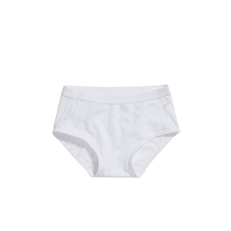 30046 Ten Cate Girls Basic Brief 2-pack 2-6Y - wit