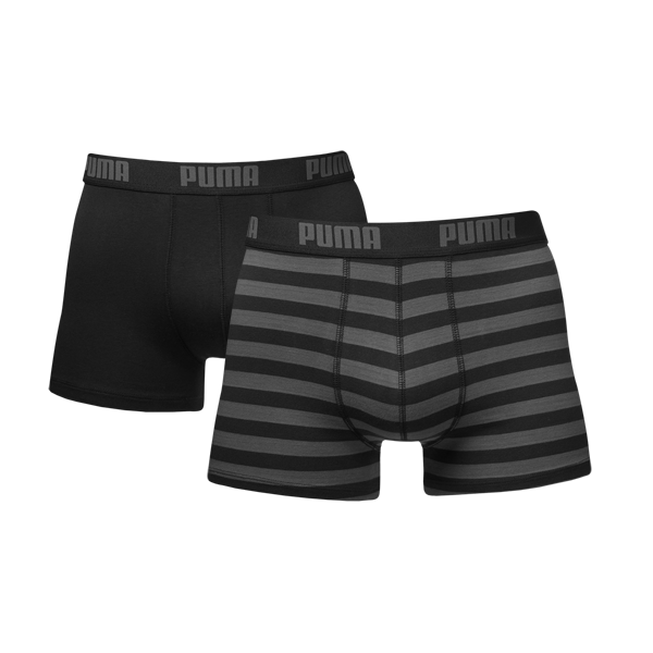 Puma - 2-pack stripe 1515 boxer - black