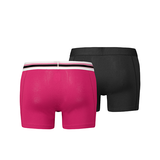 Puma - 2-pack placed logo boxer - pink