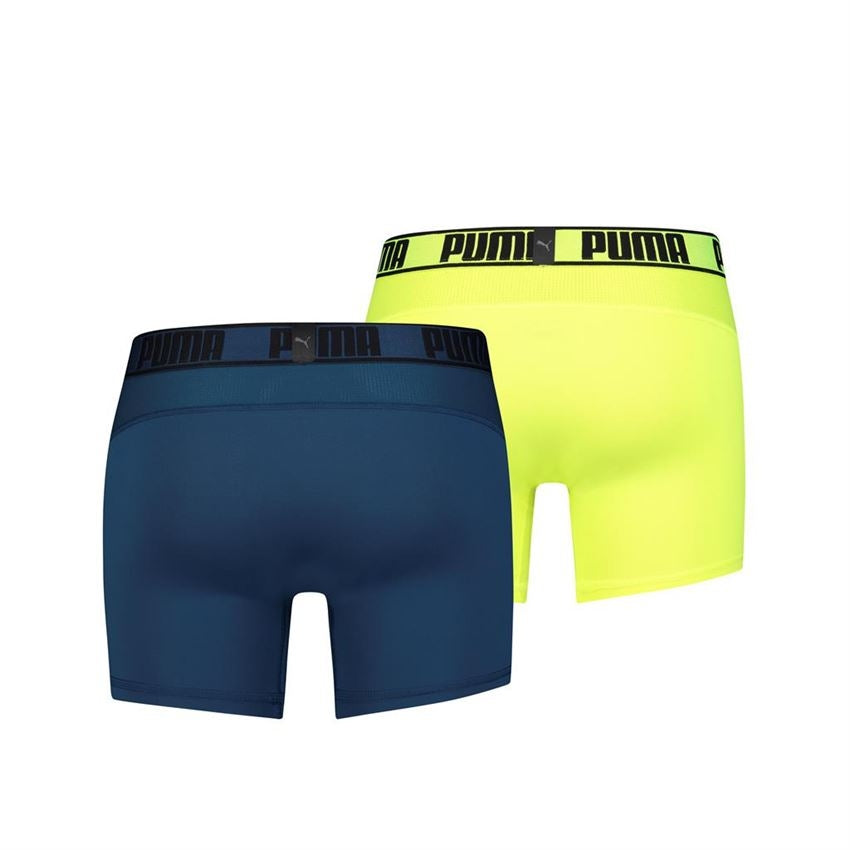 Puma Active. Boxer 2-pack - sea green / yellow