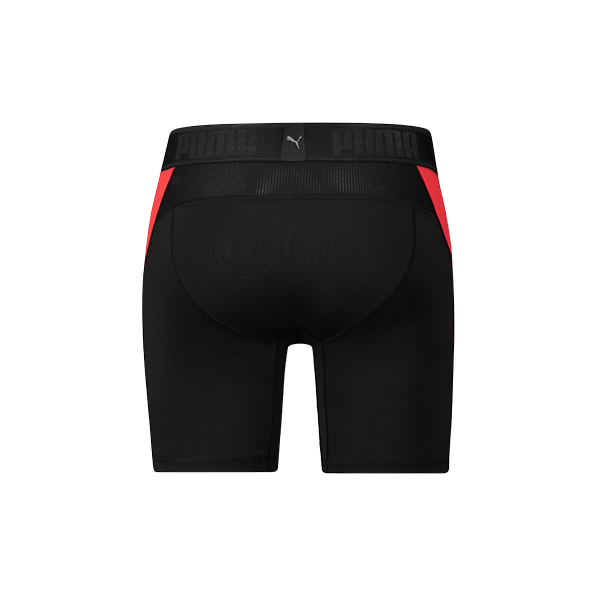 Puma Active Long boxer  - black/red