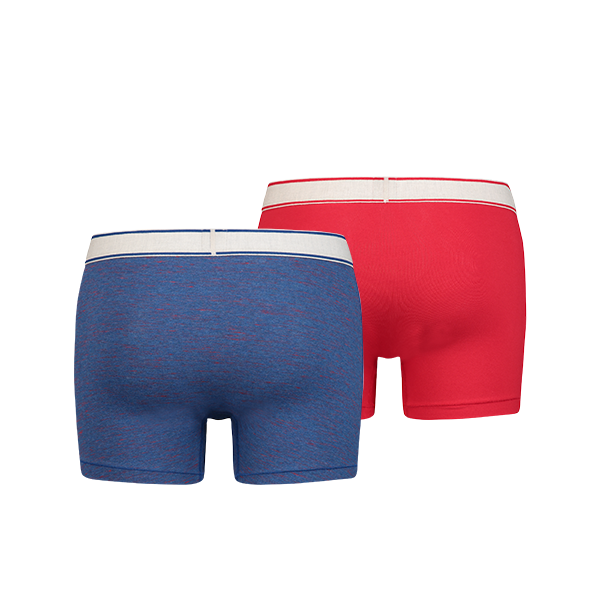 Levi's 200SF Space Dye Heather boxer 2-pack - true blue