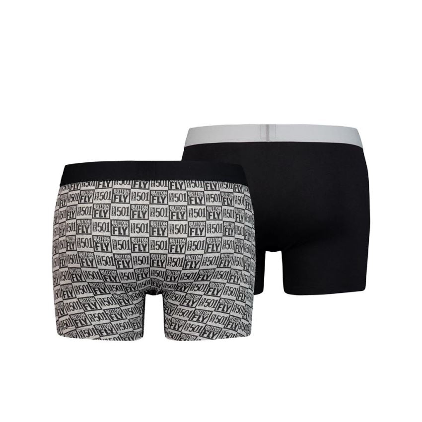 LEVIS 200SF THE ORIGINAL BOXER BRIEF 2P CAVIAR