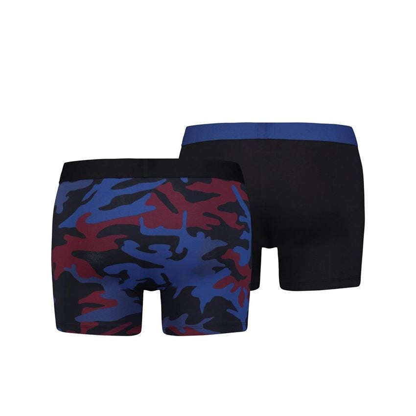 Levi's camo boxer brief 2-pack - blue