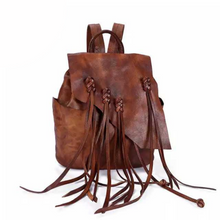 Load image into Gallery viewer, Marianna Brown Genuine Leather Backpack