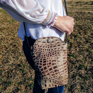 Gator Design Crossbody Bag