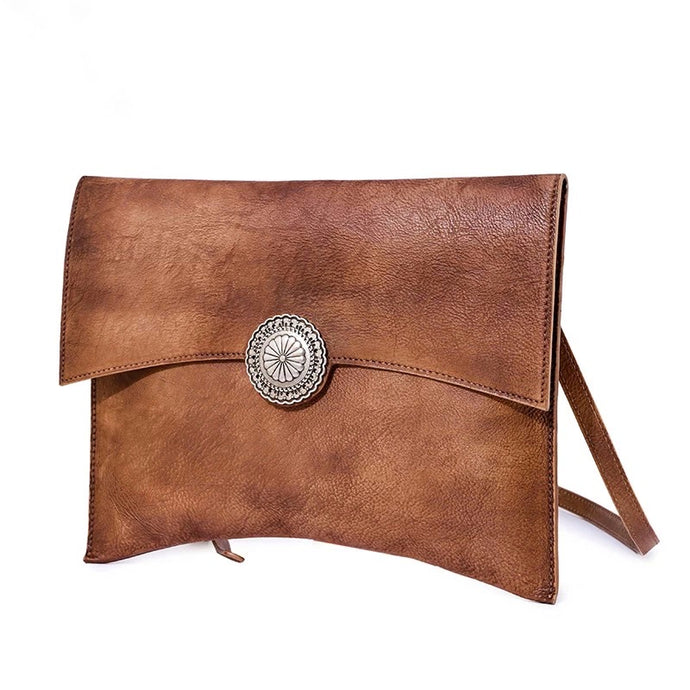 Lisa Brown Envelope Bag