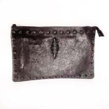 Load image into Gallery viewer, Fleur De Lis Wristlet Clutch