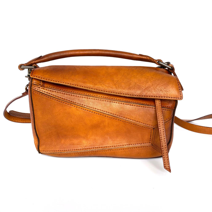 Jenna Brown Casual Genuine Leather Bag