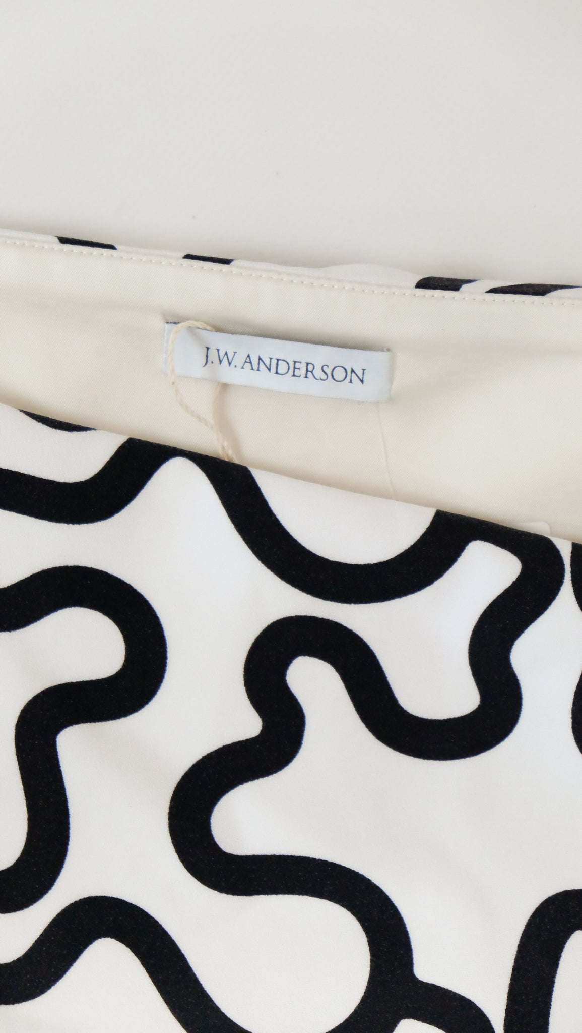 JW Anderson SS16 Cream Dress