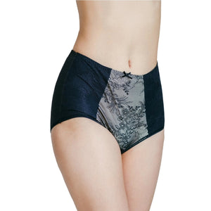 Rejuve Odour-free Organic Cotton High Rise Underwear - Empress Black (1pc pack)