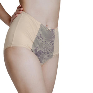 Rejuve Odour-free Organic Cotton High Rise Underwear - Empress Ivory (1pc pack)