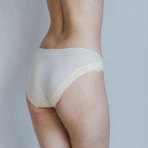 Rejuve Odour-free Organic Cotton Low Rise Underwear - Angel Ivory (1pc pack)