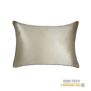 Silk Pillowcase - Champagne Gold