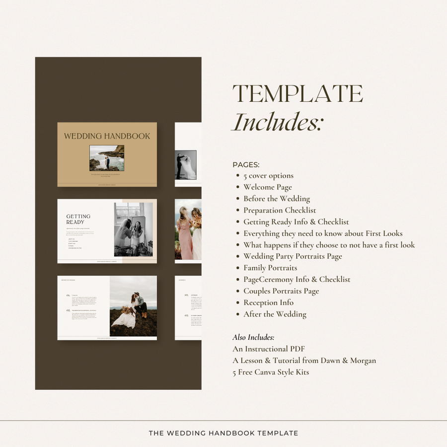 The Wedding Handbook Template
