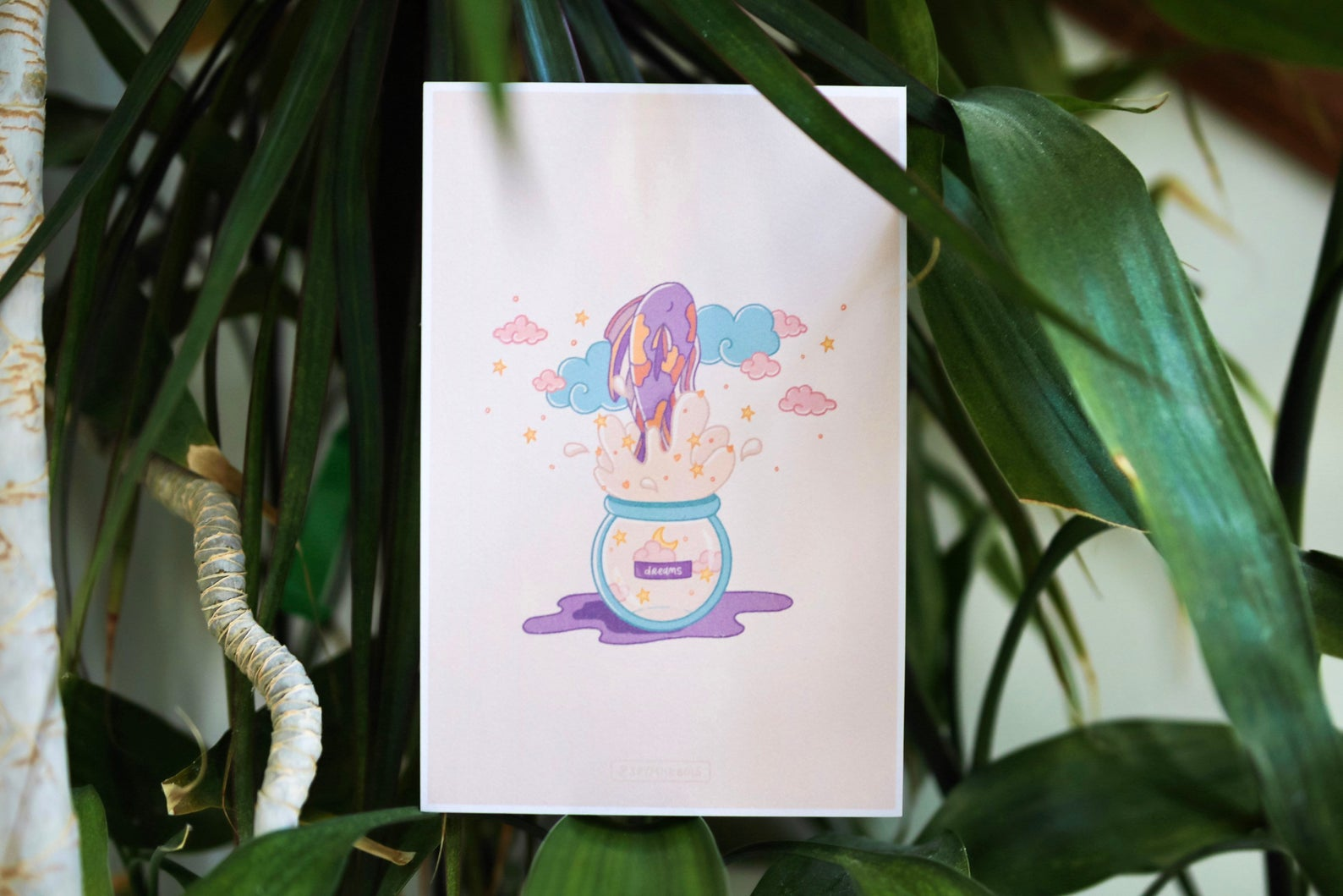 soymilkbois | Dreamer's Ink art print - achoo international