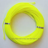 Soie nymphe orange/jaune  fluo