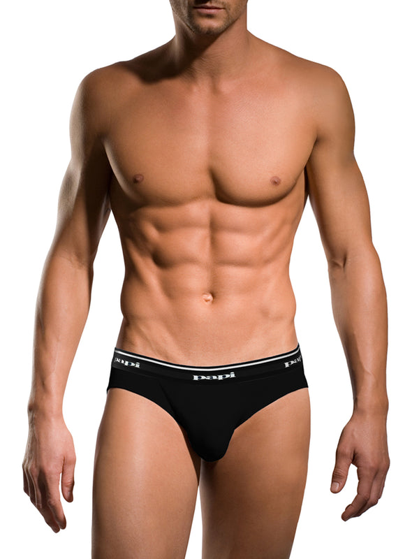 3-Pack Low Rise Briefs (Black)