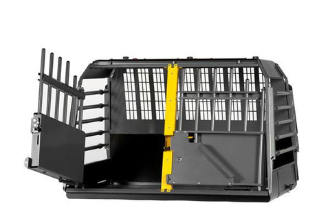 MIM Variocage Double - Car Crash Tested Dog Travel Crate for Two Dogs - Pet Possibilities - 1