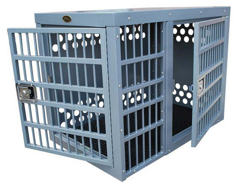 Zinger Double Door Dog Crate - Pet Possibilities - 1