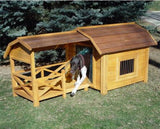 The Barn Wooden Dog House - Pet Possibilities - 2