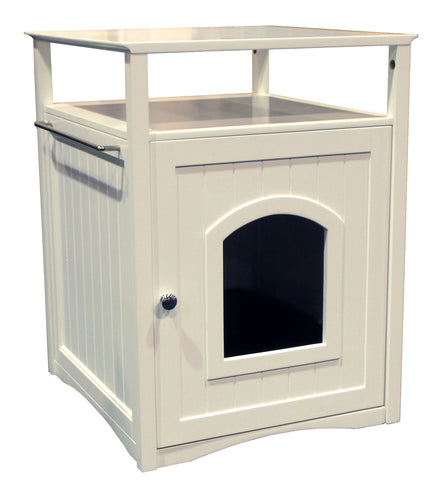 White Cat Washroom - Pet Possibilities - 1