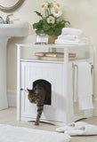 White Cat Washroom - Pet Possibilities - 2