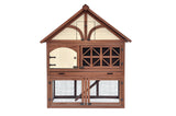 Tudor Rabbit Hutch - Pet Possibilities - 1