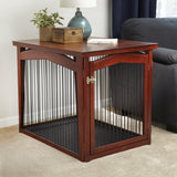 2-in-1 Configurable Pet crate and Gate - Large - Pet Possibilities - 4