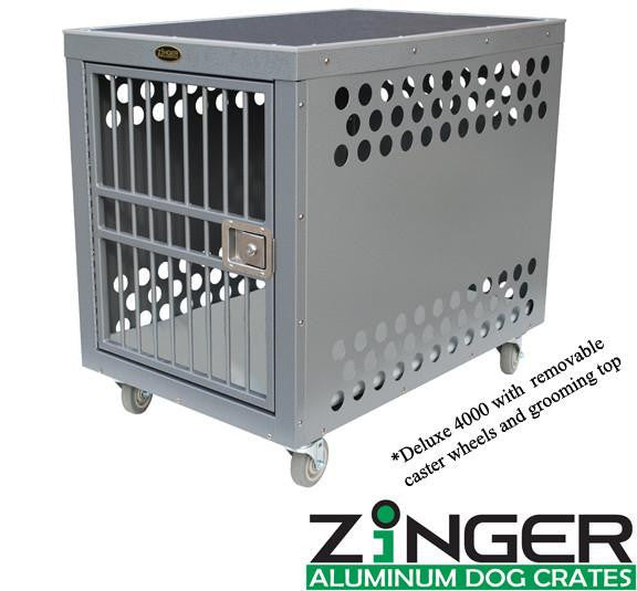 ZINGER DELUXE AIRLINE COMPLIANT IATA CR 82 TRAVEL DOG CRATE - Pet Possibilities - 1