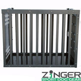 Zinger Heavy Duty Series Aluminum Dog Crate - Pet Possibilities - 2